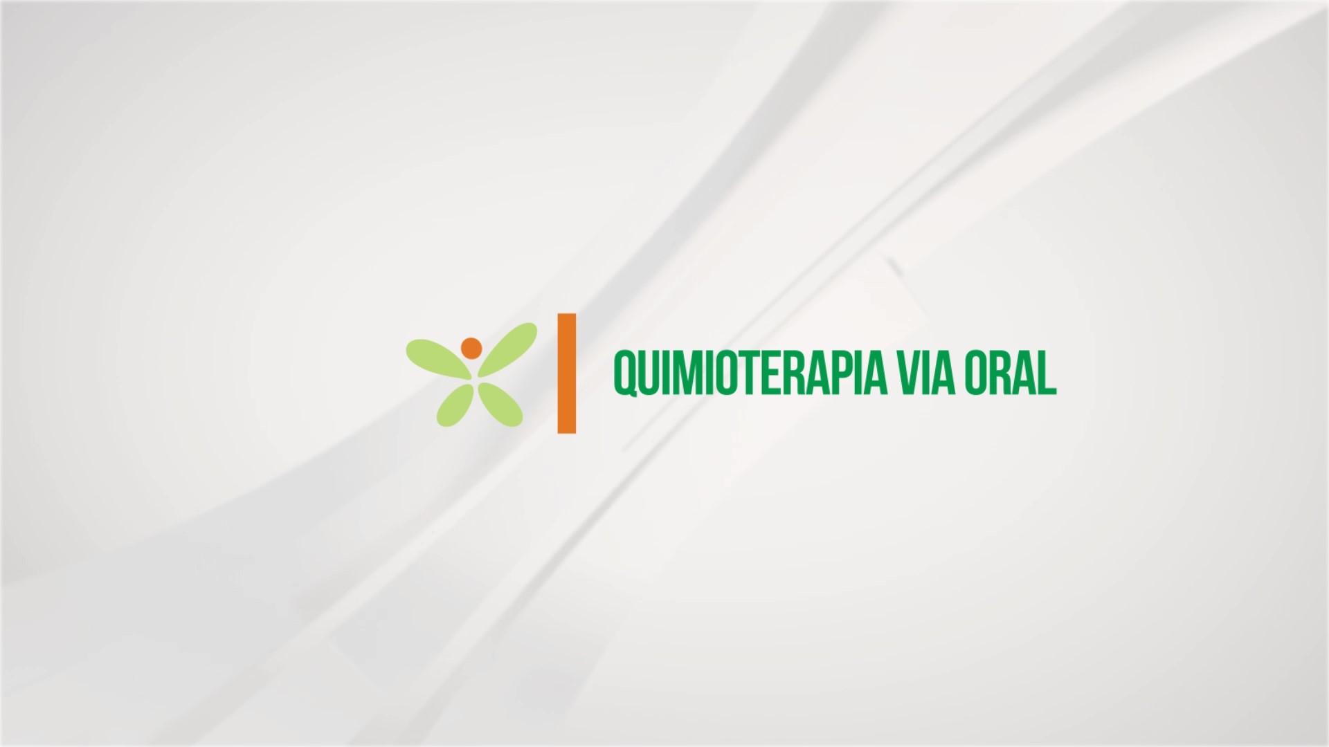 Quimioterapia via oral – Jéssica Krüger